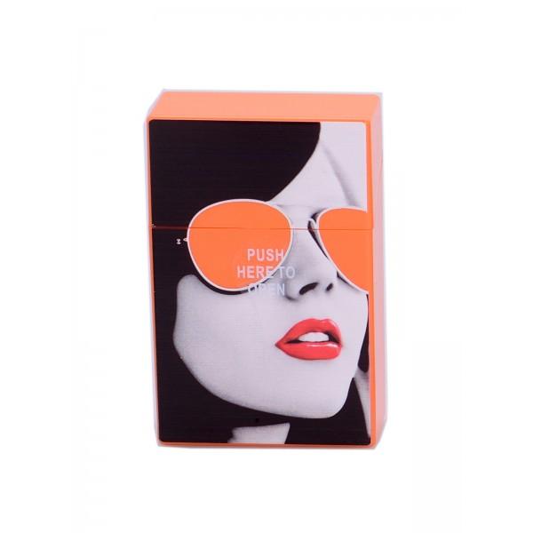 Zigaretten Click Box orange (Girl)