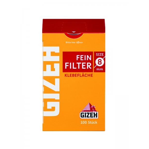 GIZEH Feinfilter 8 mm 10er Großpackung