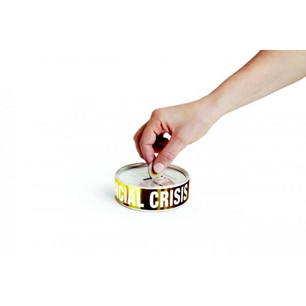 Sparbüchse Financial Crisis Survival Kit (DOIY)