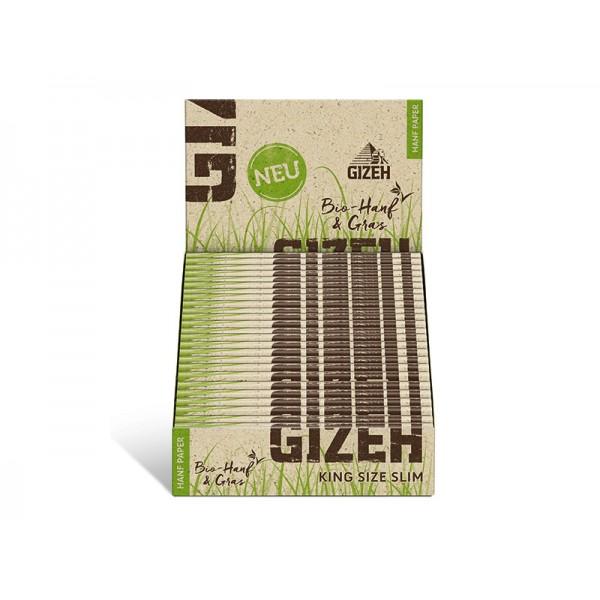 Gizeh Hanf & Gras King Size Slim Heftchen einzeln