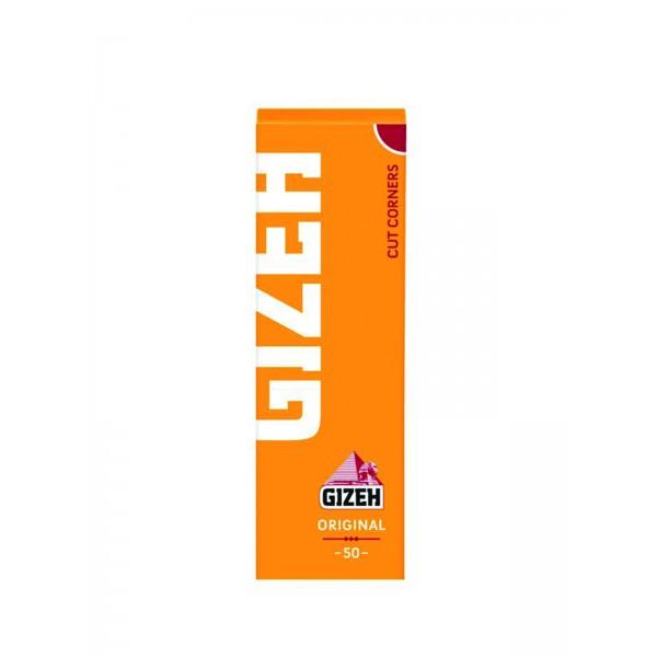 Gizeh Gelb Papers Cut Corners, Heftchen einzeln