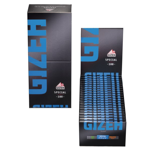Gizeh Black Special Papers mit Magnet 20er Box