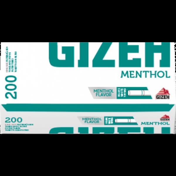 Gizeh Menthol, 200 King Size Filterhülsen