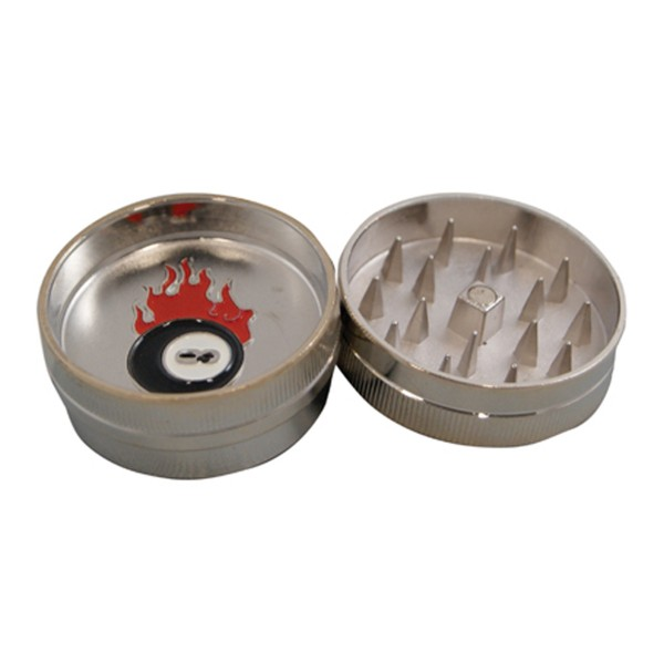 BUDDIES Mini Metal Grinder, Eightball