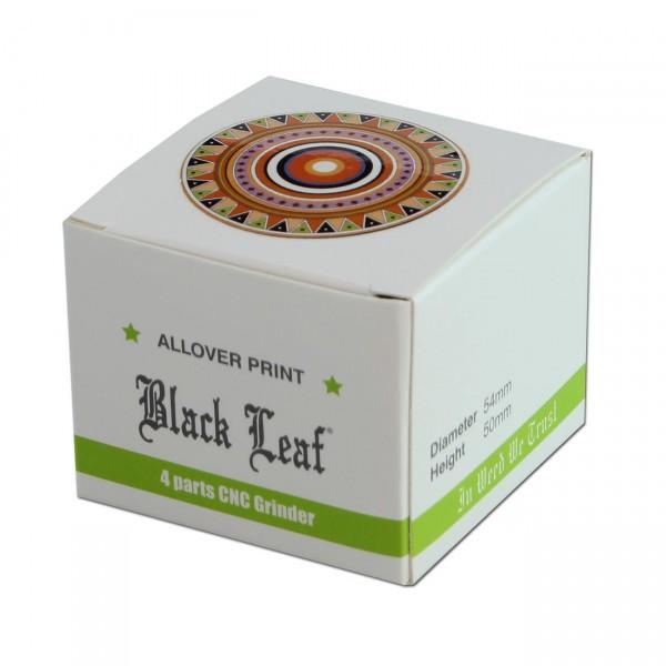 Black Leaf 'Totem' Aluminium Grinder 4-tlg.