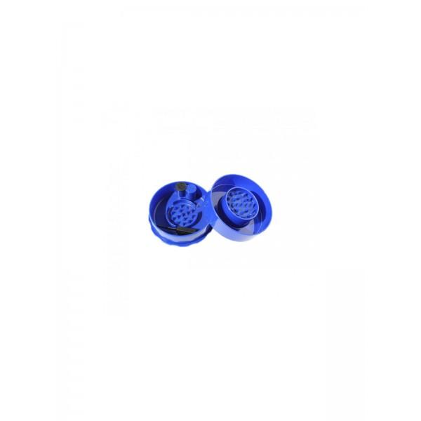 Grinder + Vakuum-Container 0,07 Liter blau 2-tlg.