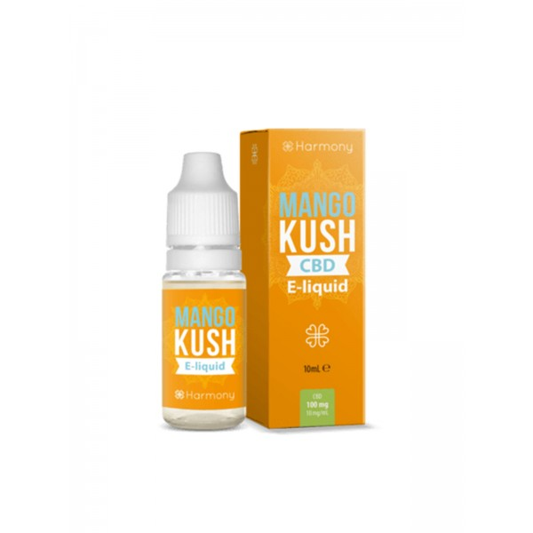 Harmony CBD Liquid - Mango Kush 10 ml