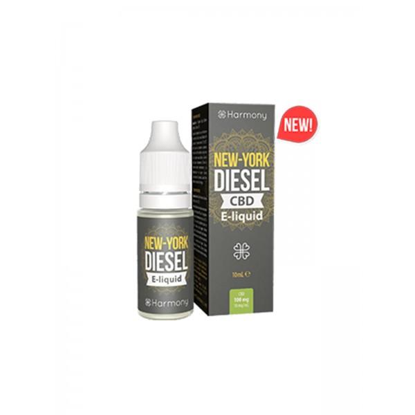 Harmony CBD Liquid - New York Diesel 10 ml