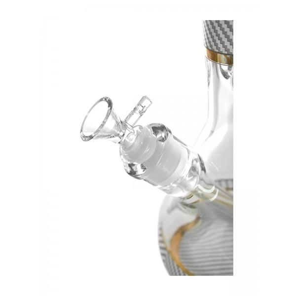 Heisenberg Carbon Beaker White Glasbong 7mm Kopf