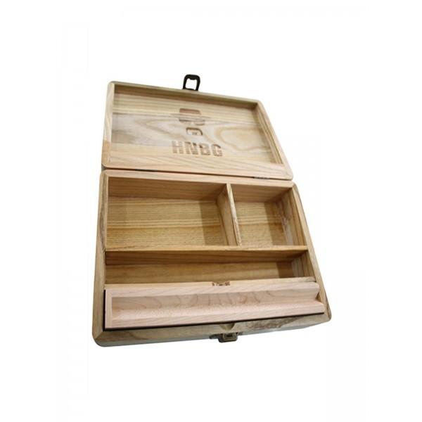 Heisenberg Holz-Box Large, Aufbewahrung fächer
