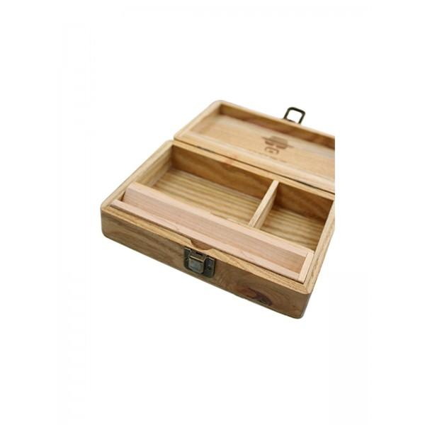 Heisenberg Holz-Box medium, Aufbewahrung innen