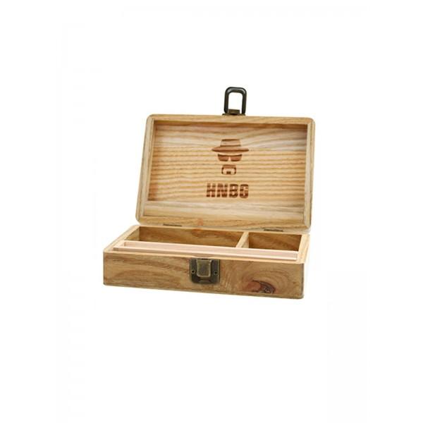 Heisenberg Holz-Box medium, Aufbewahrung offen
