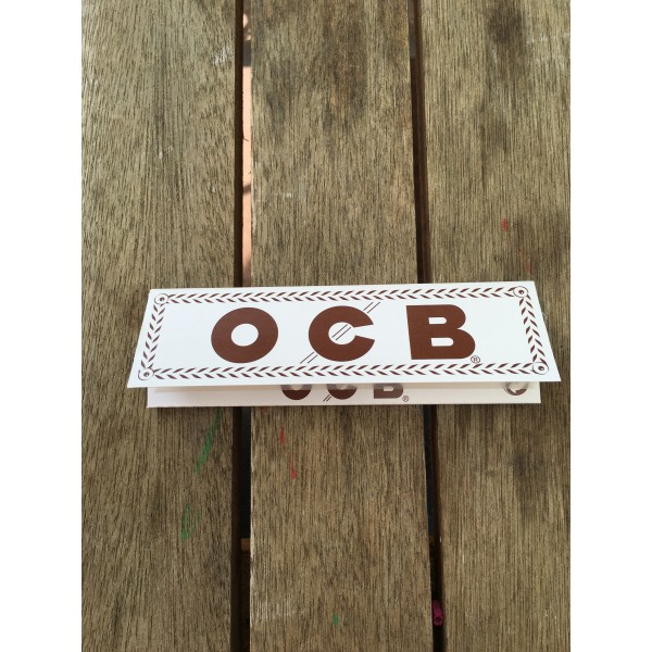 OCB Weiß Extra Long Papers, Heftchen einzeln