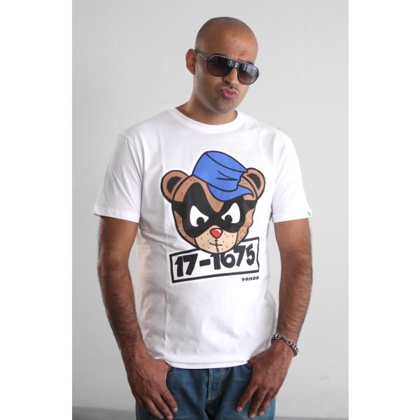 PANUU Beagle Tee (weiß), T-Shirt Front