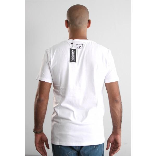 PANUU Beagle Tee (weiß), T-Shirt Back