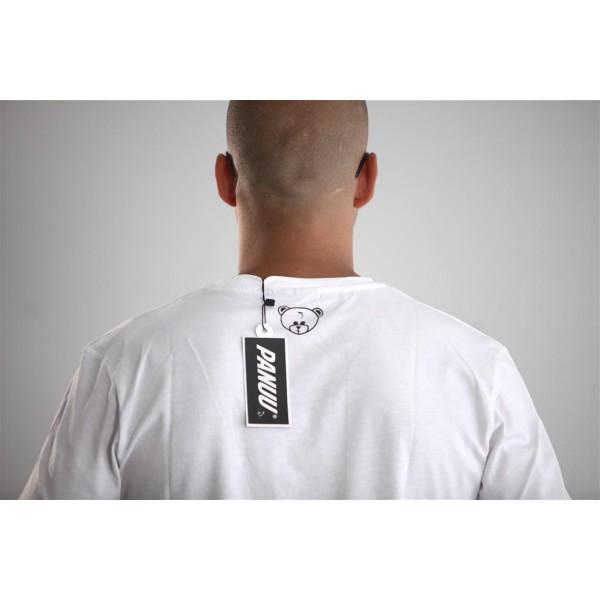 PANUU Beagle Tee (weiß), T-Shirt Detail