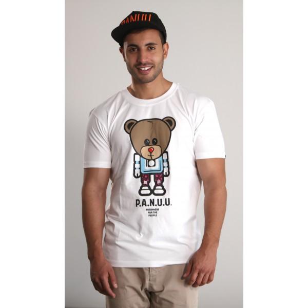 PANUU Baldrian Tee (weiß), T-Shirt Front