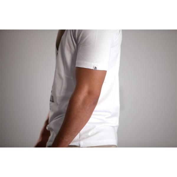 PANUU Baldrian Tee (weiß), T-Shirt Detail