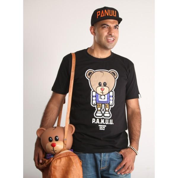 PANUU Baldrian Tee (schwarz), T-Shirt Front