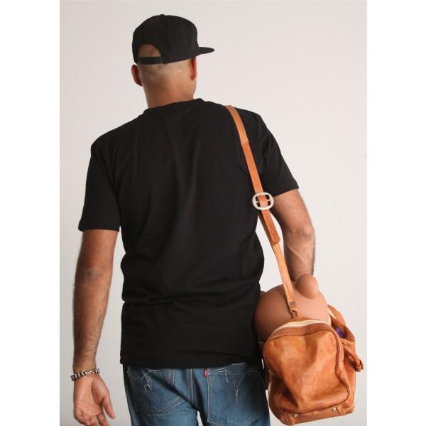 PANUU Baldrian Tee (schwarz), T-Shirt Back