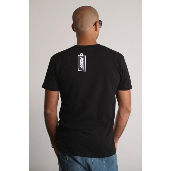 PANUU Know Tee (schwarz), T-Shirt Back