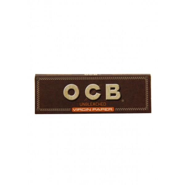 OCB unbleached Virgin Single Papers, Heftchen einzeln