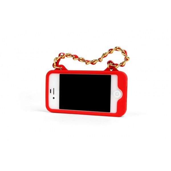 iPhone 4/4S Hülle Purse rot (Kikkerland)