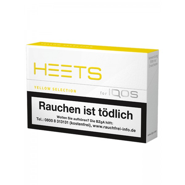 IQOS HEETS Yellow 20 er Packung