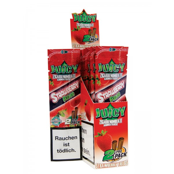 Juicy Jays Blunts Strawberry Fields, 2er Pack