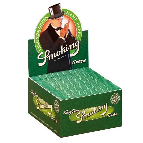 Smoking Green King Size Papers Großpackung