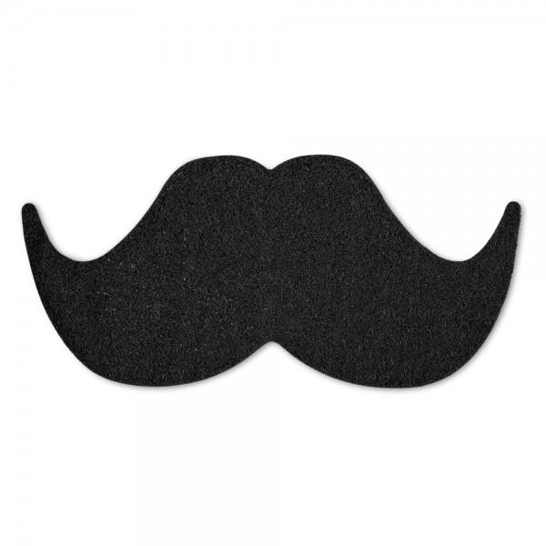 Schnurrbart Mustache Schuhabtreter (Mustard)