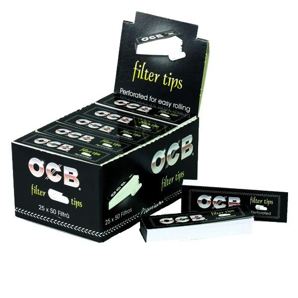 OCB Filter Tips, 25er Box