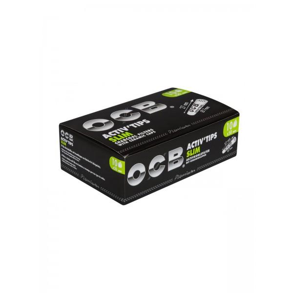 OCB Activ´Tips Slim 7mm 10er Großpackung
