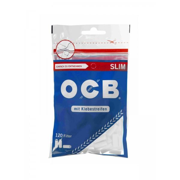 OCB Slim Filter 6 mm mit Klebestreifen 120er Beutel