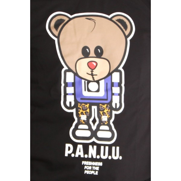 PANUU Baldrian Tee (schwarz), T-Shirt Print