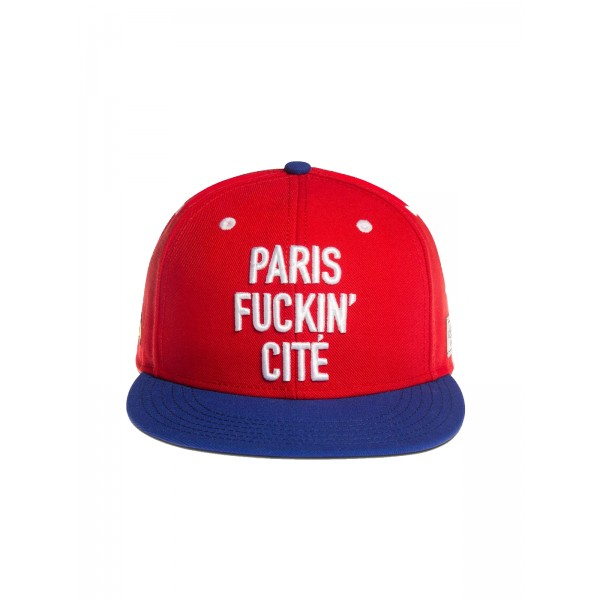 CAYLER & SONS Paris Cite red Snapback Cap