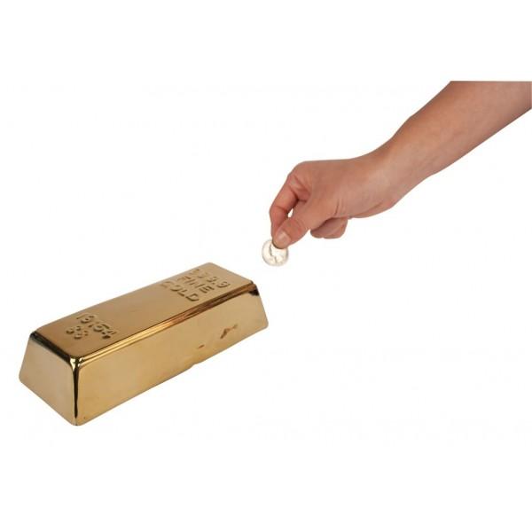 Spardose Goldbaren (Kikkerland)