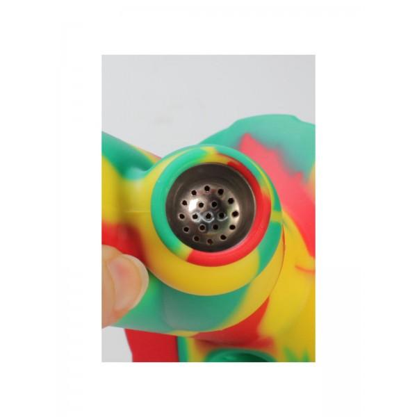 PieceMaker Silikonbong Kolt Rasta Swirl Köpfchen