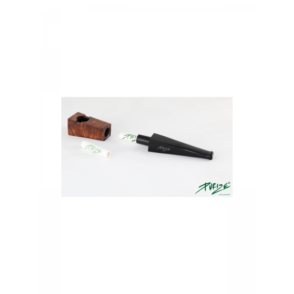 PURIZE® Bruyère Pipe (Black Edition) Filter