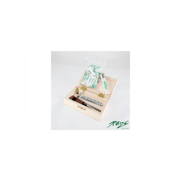 PURIZE® Bruyère Pipe (Transparent Edition) Set