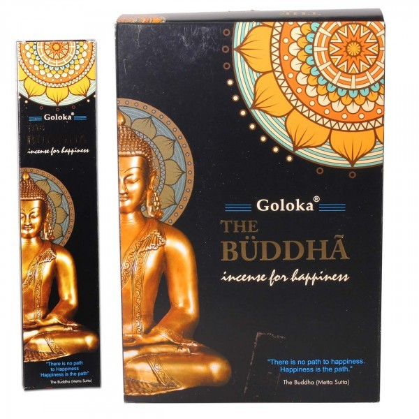 Goloka Räucherstäbchen The Buddha 12er