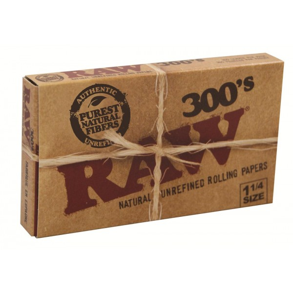 RAW Classic 300´s 1 1/4 Size Papers, 40er Box