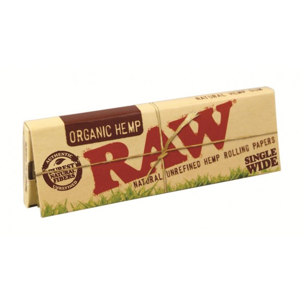 RAW Organic Single Wide Papers, Heftchen einzeln (Papers)