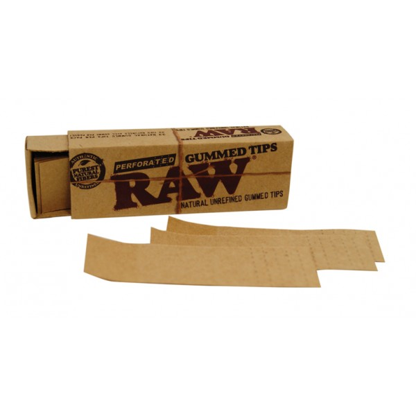 RAW Perforated Gummed Tips, Packung einzeln