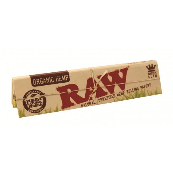 RAW Organic King Size Slim, Heftchen einzeln