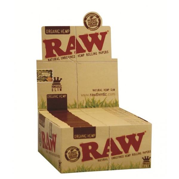 RAW Organic King Size Slim, Großpackung