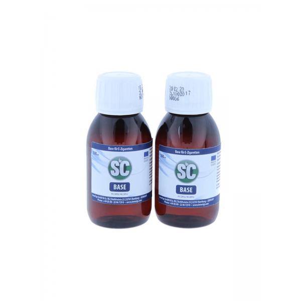 SC Base 100 ml - 0 mg 80 VG  20 PG