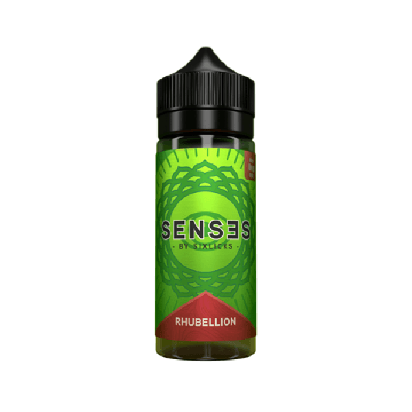 Senses by Six Licks Rhubellion 100ml