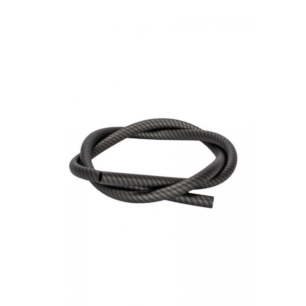 Aladin Silikon Shisha-Schlauch Carbon schwarz 150 cm
