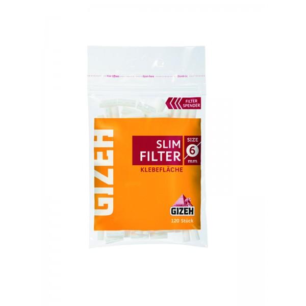 GIZEH Slim Filter 6 x 15 mm, 20er Großpackung